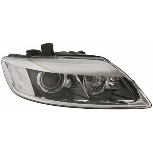 service manual  how to ajust headlight beam 2009 audi q7