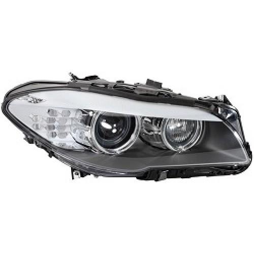 Bmw 5 Series F10 F11 Hella Bi Xenon Headlight Clear With